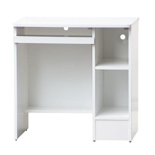AS-波特2.5尺全白電腦桌-75x54x75cm