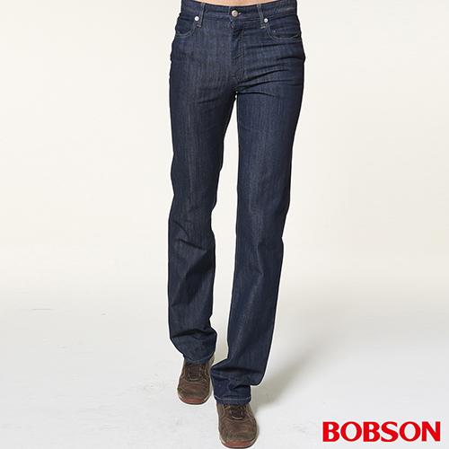 BOBSON 男款低腰伸縮直筒褲  1722~52