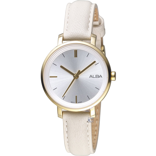 ALBA 雅柏氣質女孩時尚腕錶 VJ21-X125W  AH8488X1