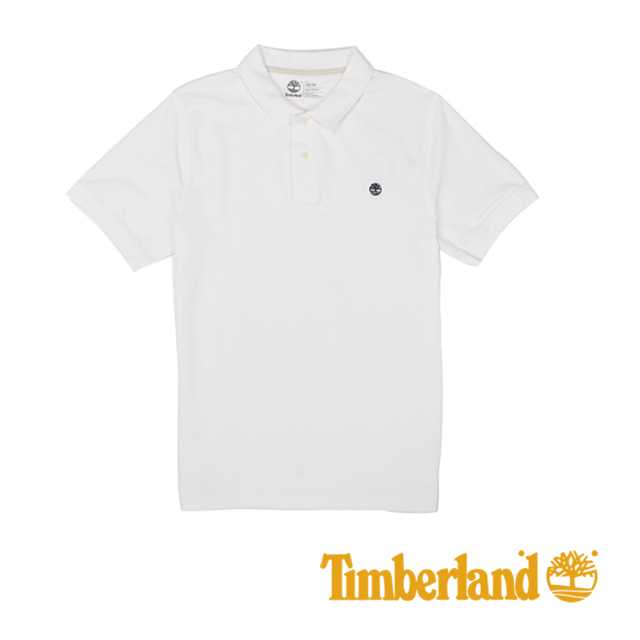 Timberland 男士Millers River Polo 衫-白
