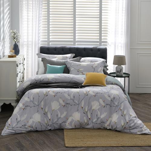 BBL 嘉德麗雅 100%精梳棉.印花雙人兩用被床包組