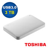 TOSHIBA Canvio Ready 3TB USB3.0 2.5吋行動硬碟(HDTP230AW3CA)
