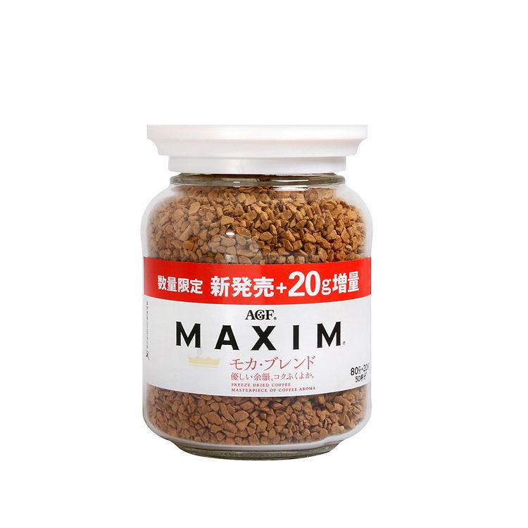 AGF MAXIM 咖啡罐 箴言白 摩卡