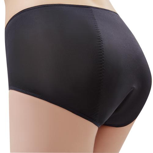 【思薇爾】Tour-Dry系列M-XXL素面夜用中腰生理褲(黑色)