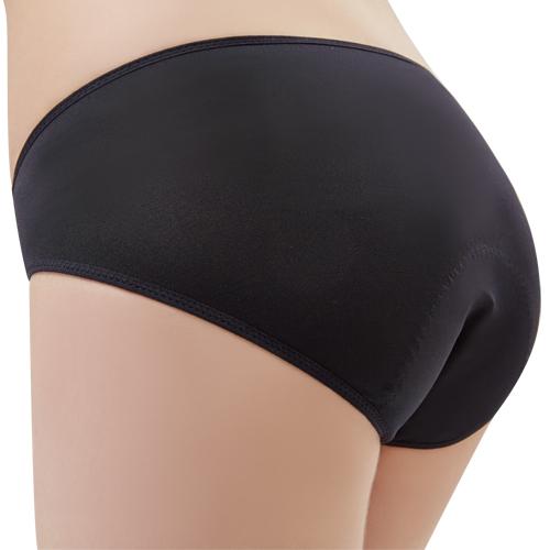 【思薇爾】Tour-Dry系列M-XXL素面日用低腰生理褲(黑色)