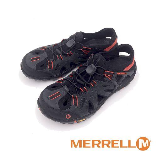 MERRELL All Out Blaze Sieve 水陸兩棲鞋 多功能男鞋-黑紅色