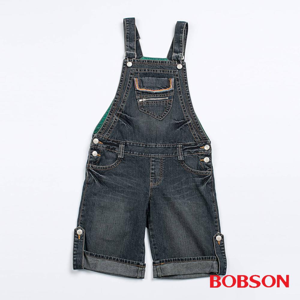 BOBSON    吊帶五分褲(D082-77)