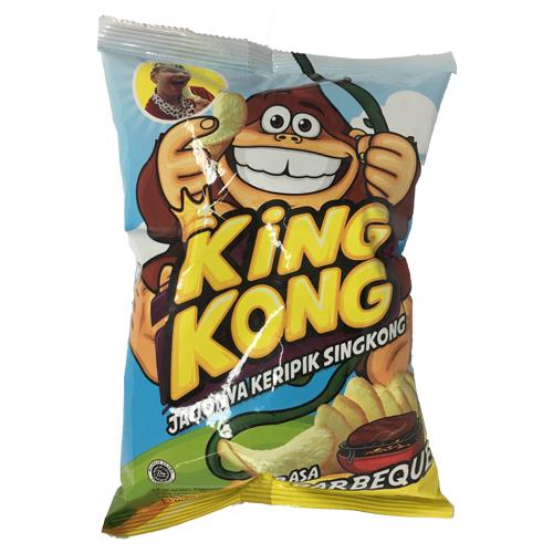 KING KONG薯片金剛-燒烤60g