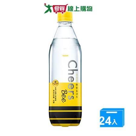 CHEERS蜂蜜氣泡水590ML x24