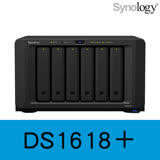 Synology 群暉科技 DiskStation DS1618+ NAS (6Bay/Intel/4G) 網路儲存伺服器