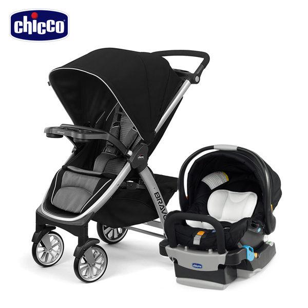 chicco-Bravo極致完美手推車Air版+keyfit手提汽座