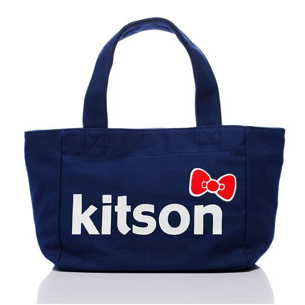 Kitson x Ribbon Hello Kitty L Tote (海軍藍)