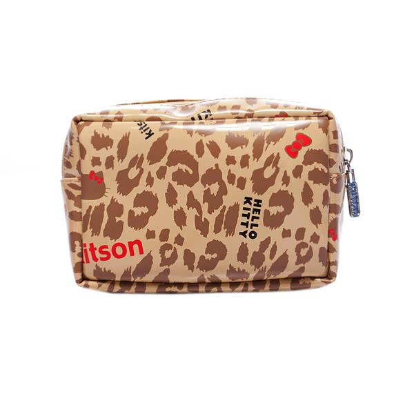 Kitson x Kitty - Loves LA 聯名系列 化妝包(LEOPARD)