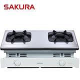 【促銷】櫻花SAKURA 雙內焰崁入爐 G-6513/G6513S 送安裝
