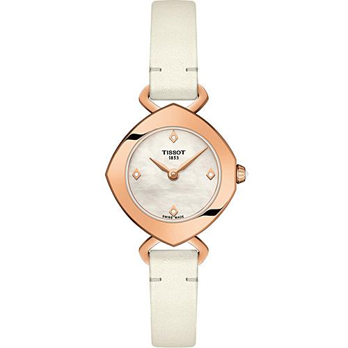 TISSOT FEMINI-T  高雅姿態時尚錶  T1131093611600
