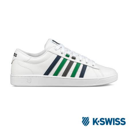 K-swiss Hoke CMF 休閒運動鞋-男-白/藍/綠