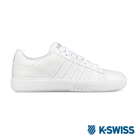 K-swiss Pershing Court CMF 休閒運動鞋-男-白