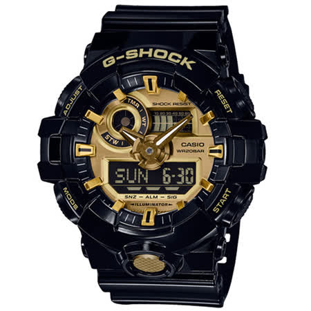 CASIO卡西歐 金屬運動腕錶