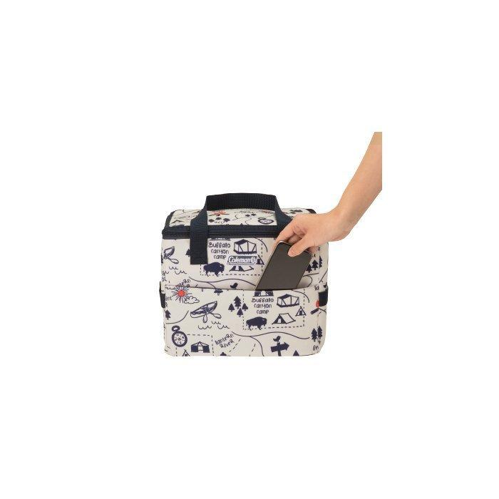 【美國Coleman】10L 露營地圖保冷袋 # CM-33436M