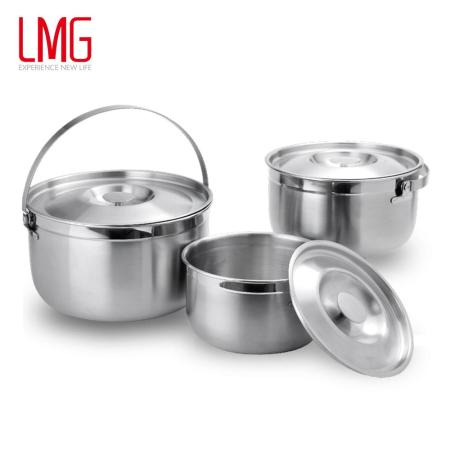 Dashiang 316不鏽鋼三件式提鍋