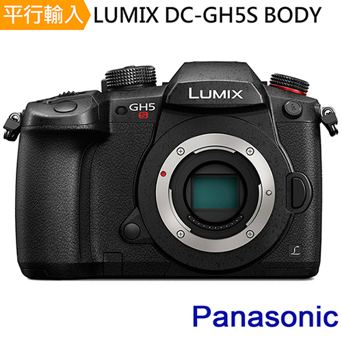 Panasonic LUMIX DC-GH5S 單機身*(平輸)-送強力大吹球+清潔組+細毛刷+高透光保護貼