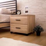 AS-卡洛琳橡木床頭櫃-48x40x45cm