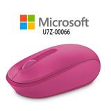 微軟Microsoft 無線行動滑鼠1850 桃花粉 (U7Z-00066)
