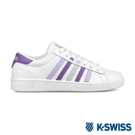 K-swiss Hoke CMF 休閒運動鞋-女-白/紫