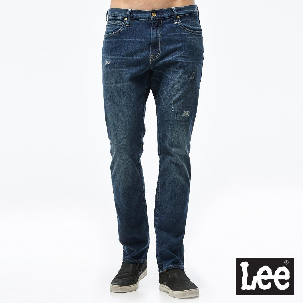 Lee 726 中腰標準小直筒牛仔褲/RG-男款-藍