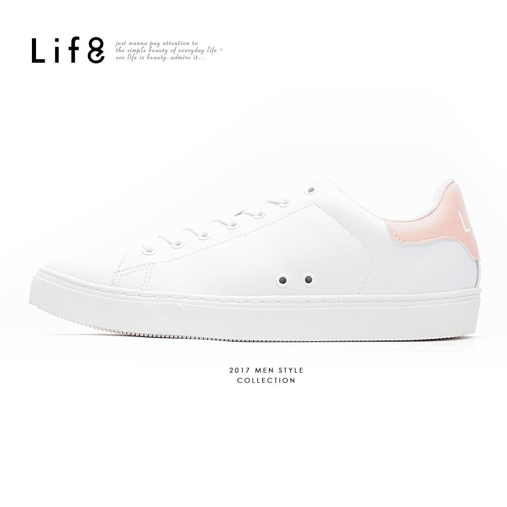 【Life8】  極簡風格 跳色簡約休閒鞋