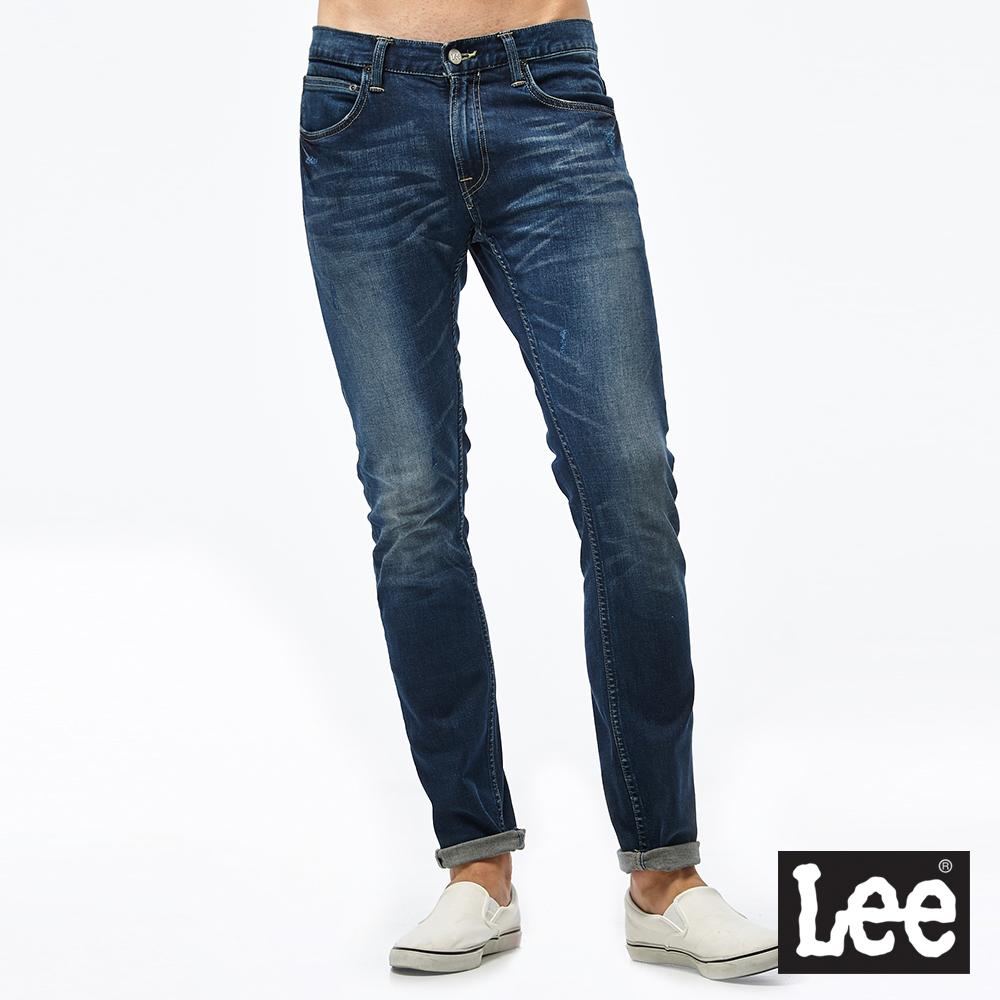 Lee 709 低腰合身小直筒牛仔褲/RG-男款-深藍
