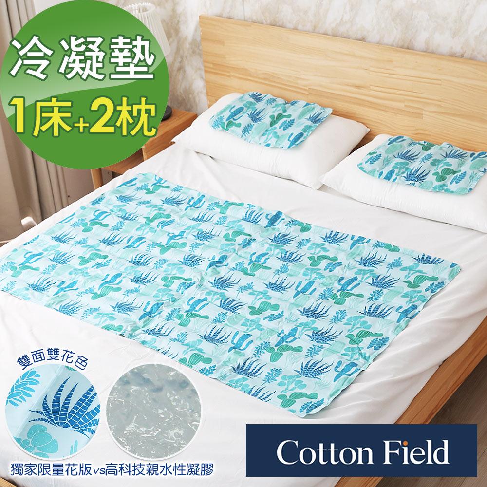 棉花田 酷涼冷凝床墊組
