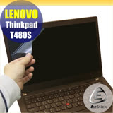 EZstick Lenovo ThinkPad T480S 系列專用 靜電式筆電LCD液晶螢幕貼