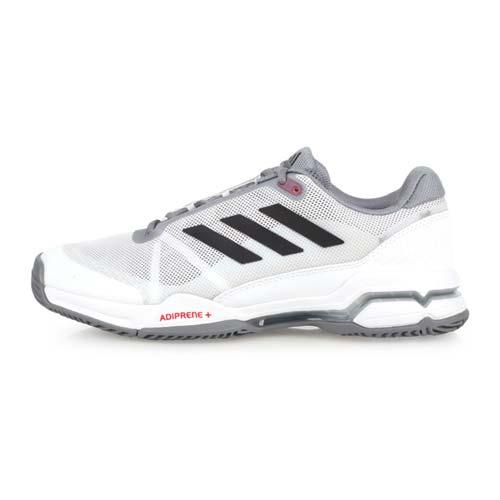 (男) ADIDAS BARRICADE CLUB 網球鞋-愛迪達 白灰黑