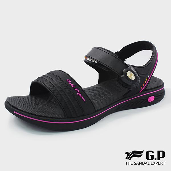 【G.P 女款極輕量舒適涼鞋】G8697W-黑桃色(SIZE:36-39 共三色)