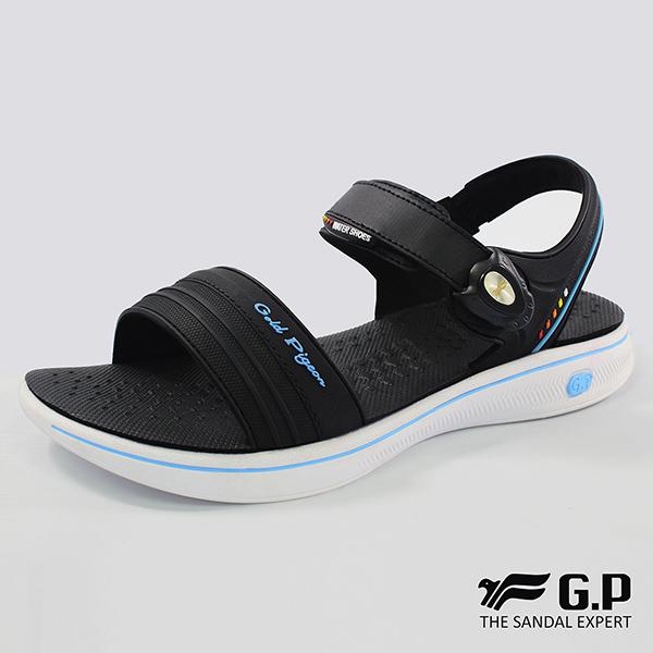 【G.P 女款極輕量舒適涼鞋】G8697W-水藍色(SIZE:36-39 共三色)