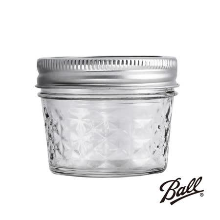 (箱購12入)美國原裝進口正宗Ball 梅森菱格密封罐-4oz-非復刻版