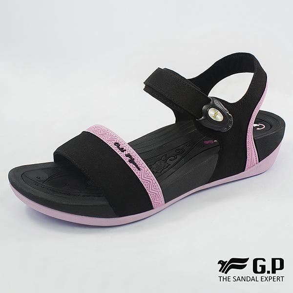 【G.P 女款雙密度舒適鞋墊涼鞋】G8690W-亮粉色(SIZE:35-39 共三色)