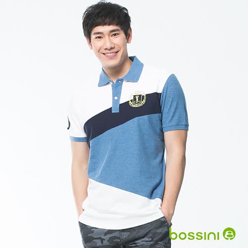bossini男裝-短袖經典POLO衫