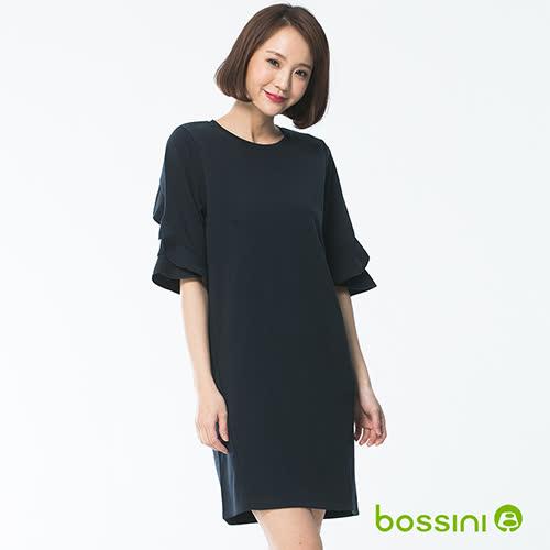 bossini女裝-圓領短袖連身裙