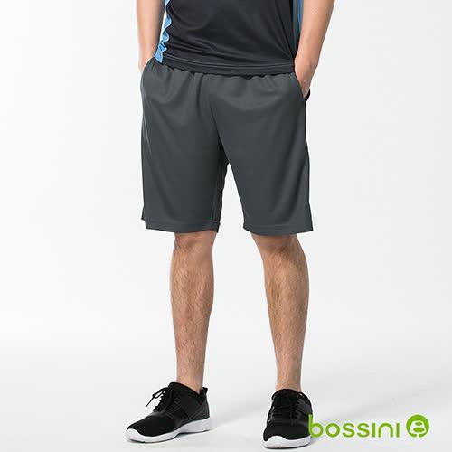 bossini男裝-速乾針織短褲