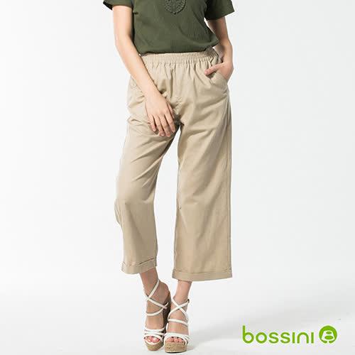 bossini女裝-休閒棉麻長褲