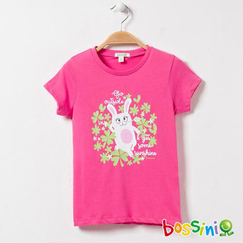 bossini女童-印花短袖T恤