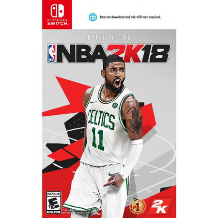 Nintendo Switch NBA 2K18 中文版