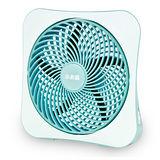 小太陽10吋DC節能扇/藍色/白色(TF-1088)