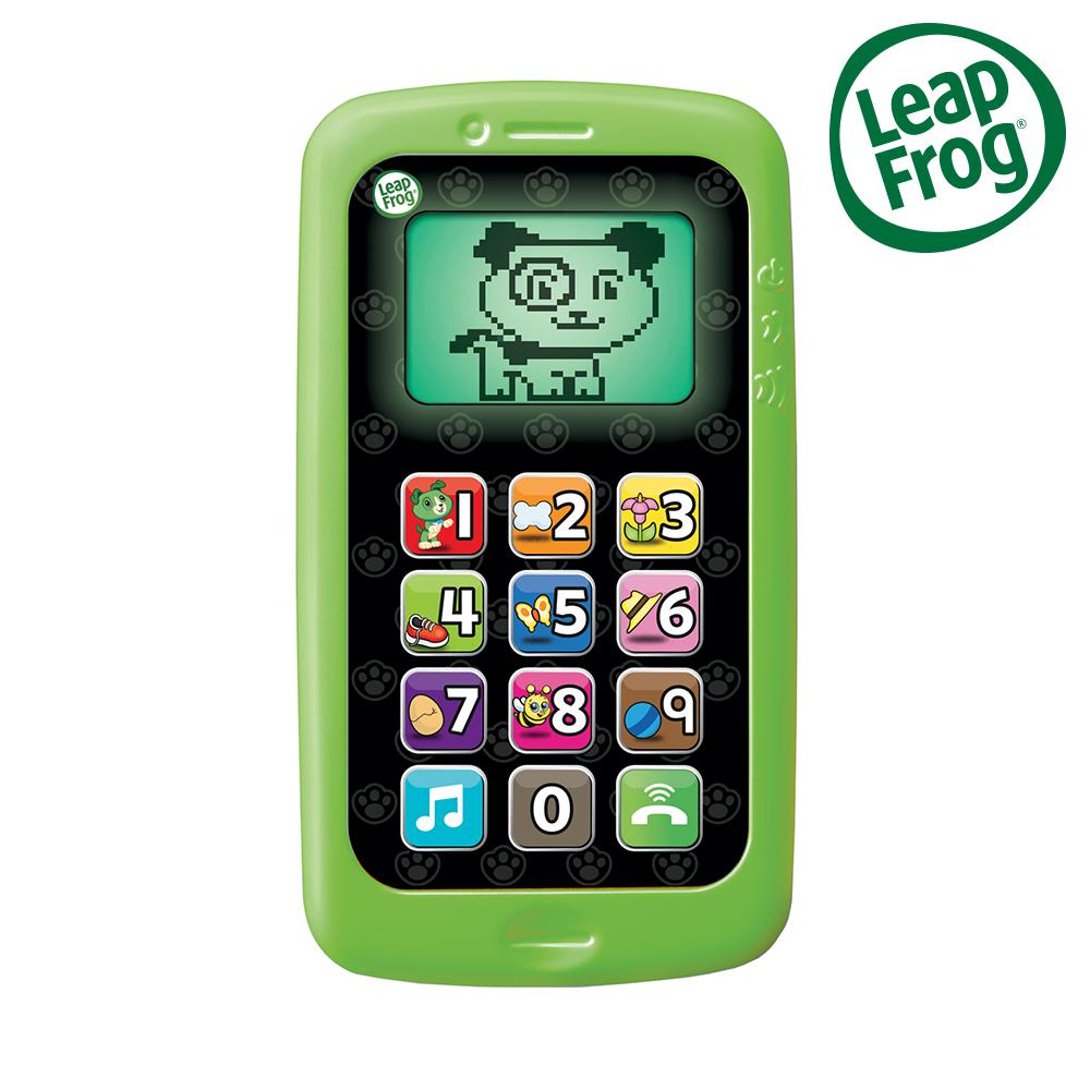 美國【LeapFrog 跳跳蛙】數數聰明小手機(兩色可選)
