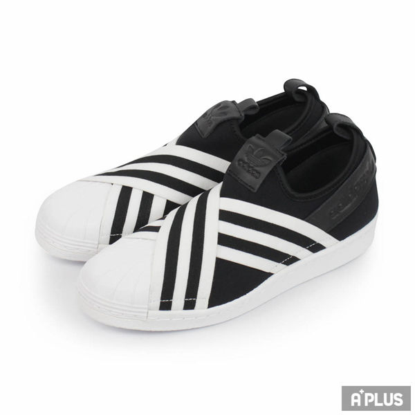 Adidas 女 SUPERSTAR SLIPON W 愛迪達 經典復古鞋- AC8582