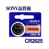 【日本大品牌】SONY CR2025 鈕扣型/水銀鋰電池 計算機 手錶電池 遙控器 電子秤 體重計 (5入)