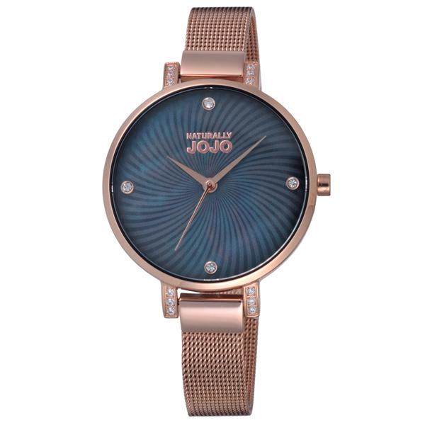 NATURALLY JOJO晶鑽米蘭魅力腕錶~JO96925~88R