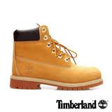 Timberland 童款經典6吋防水黃靴